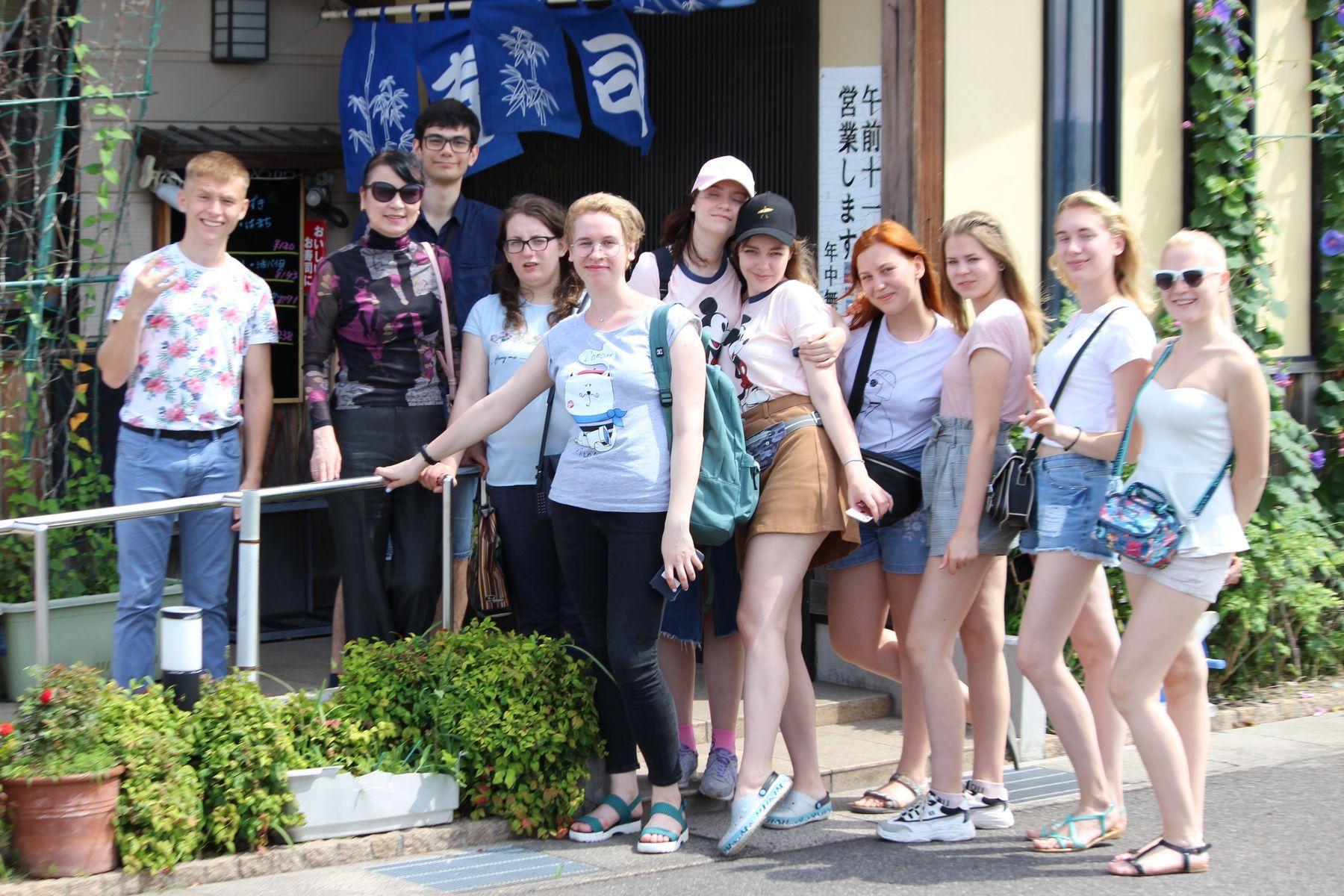 Международный институт туризма и гостеприимства ВГУЭС знакомит своих студентов с туристскими предприятиями Японии