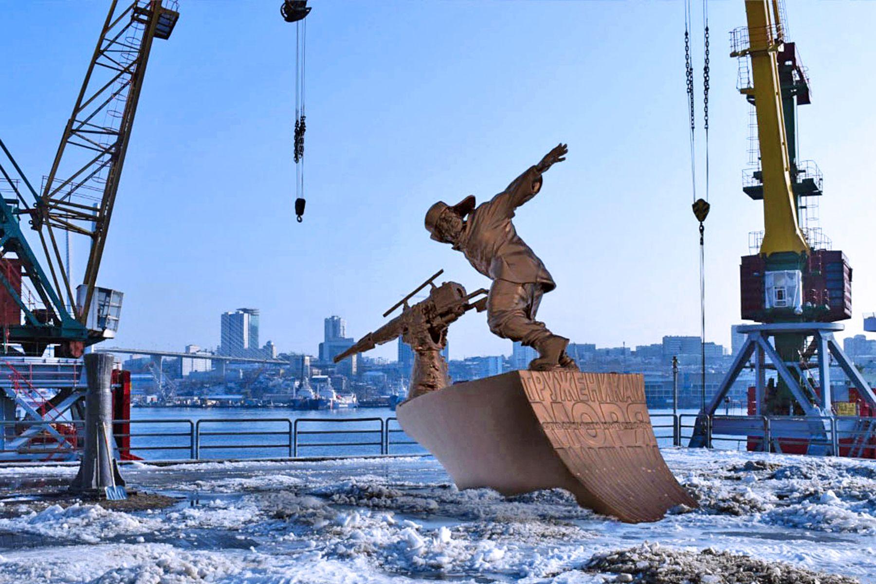 В лаборатории FabLab ВГУЭС визуализировали макет памятника труженикам китобойных флотилий