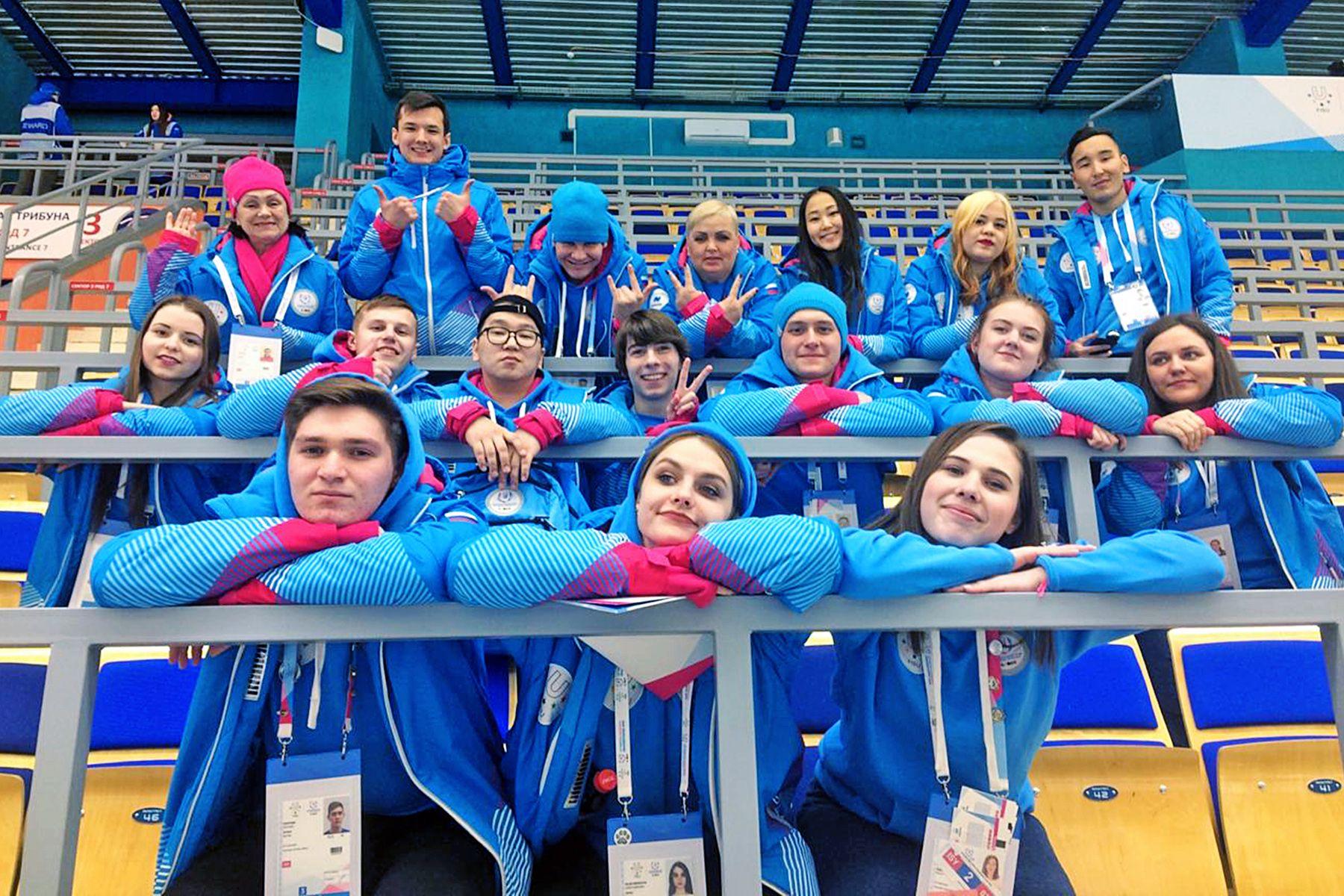 Волонтёры ВГУЭС на Универсиаде в Красноярске: как это было
