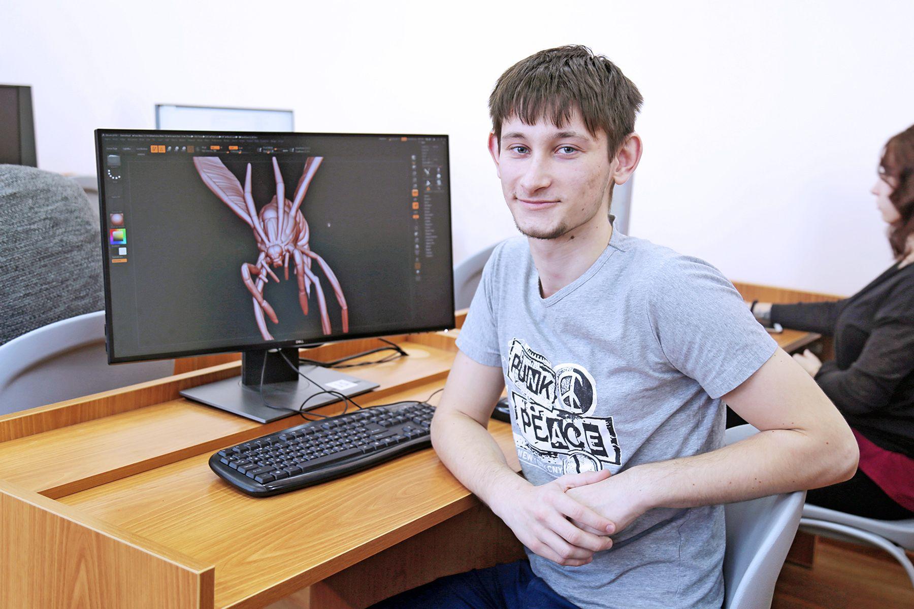 Студент ВГУЭС Роман Пестов - победитель Всероссийского конкурса по 3D-моделированию