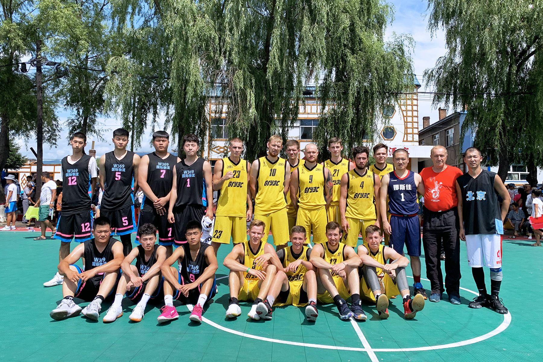 Баскетболисты ВГУЭС открыли новый сезон на Фестивале спорта в Дунине