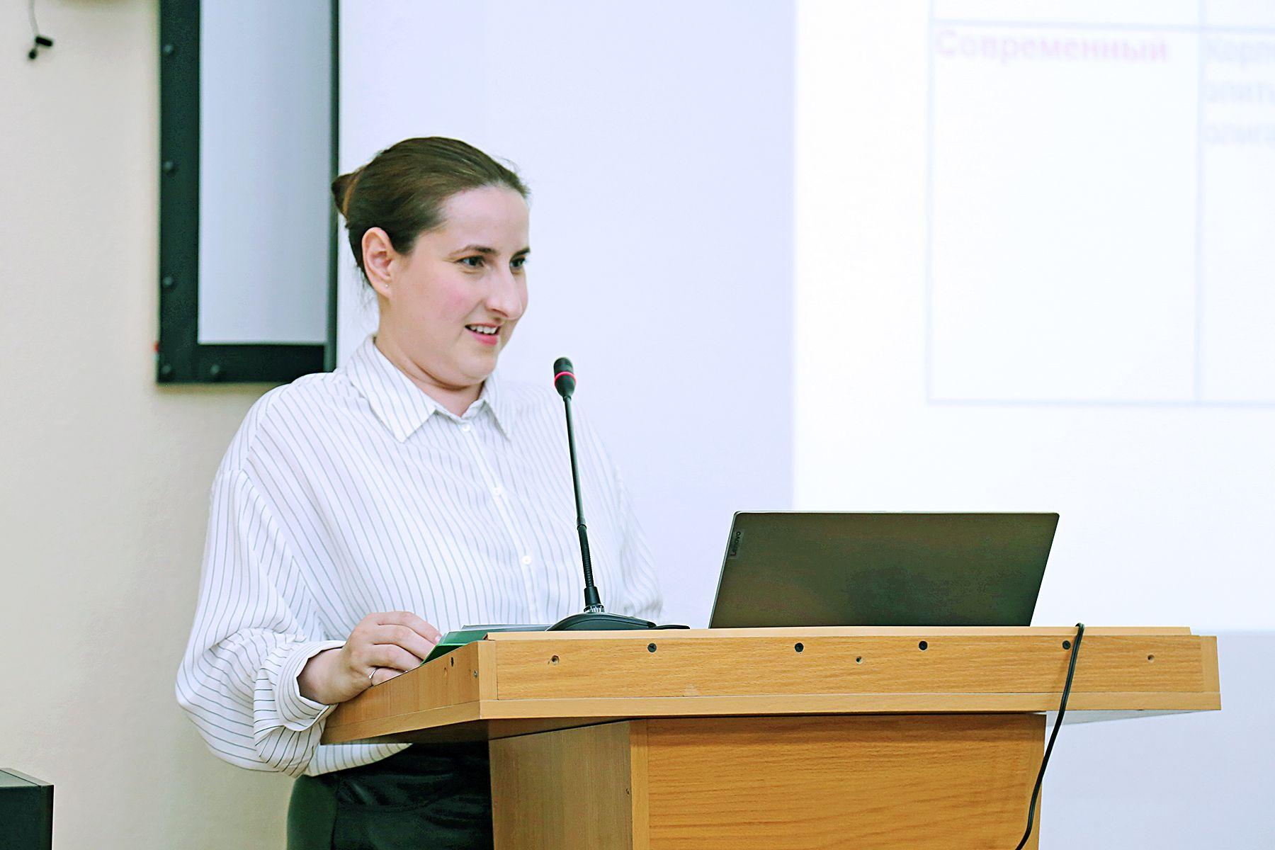 Выход на новую траекторию развития страны: во ВГУЭС обсудили докторскую диссертацию доцента Анастасии Николенко