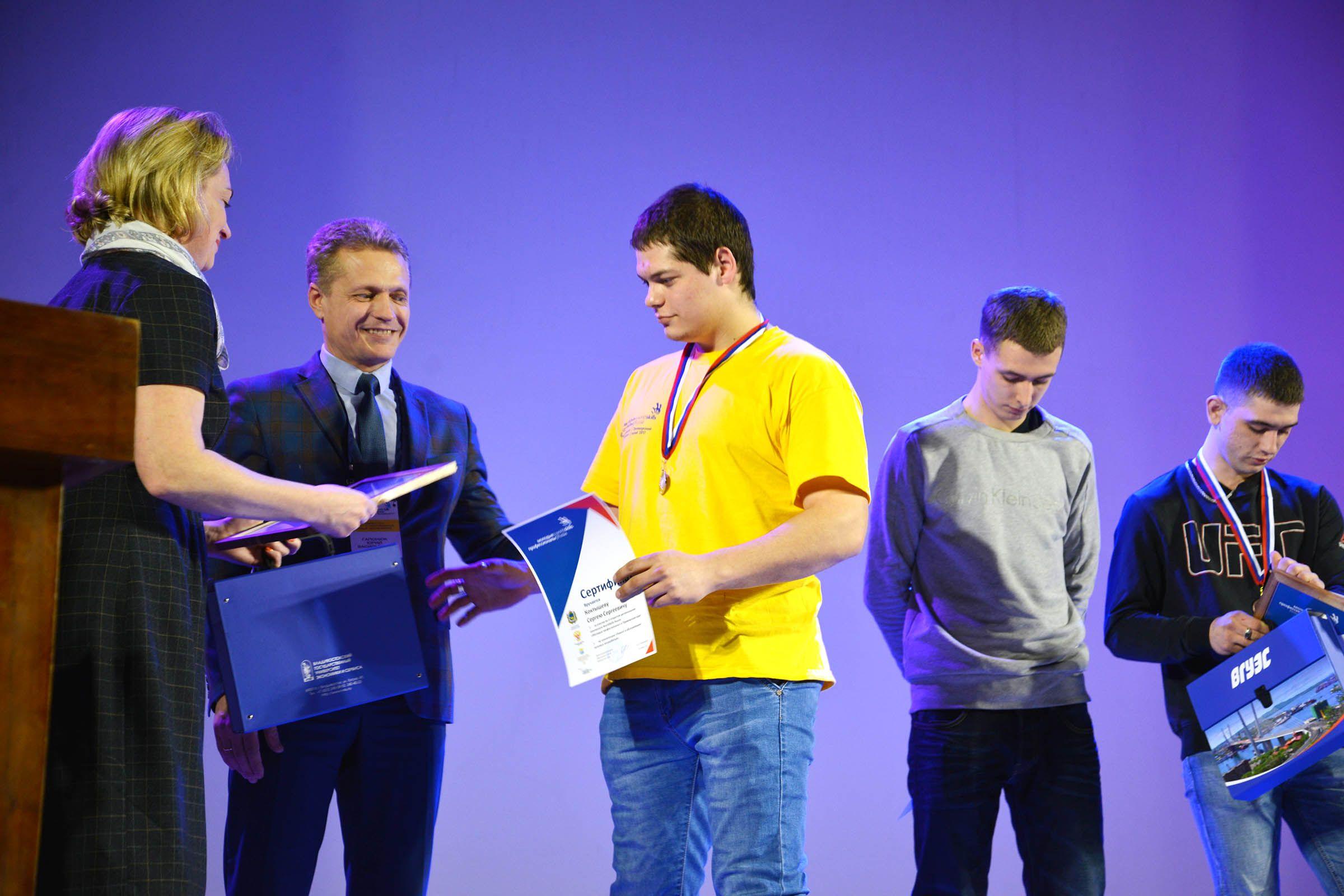 Мощный рывок ВГУЭС на чемпионате WorldSkills: 7 побед, 18 призовых мест