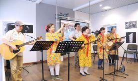 Музыка Окинавы заиграла в музее ВГУЭС