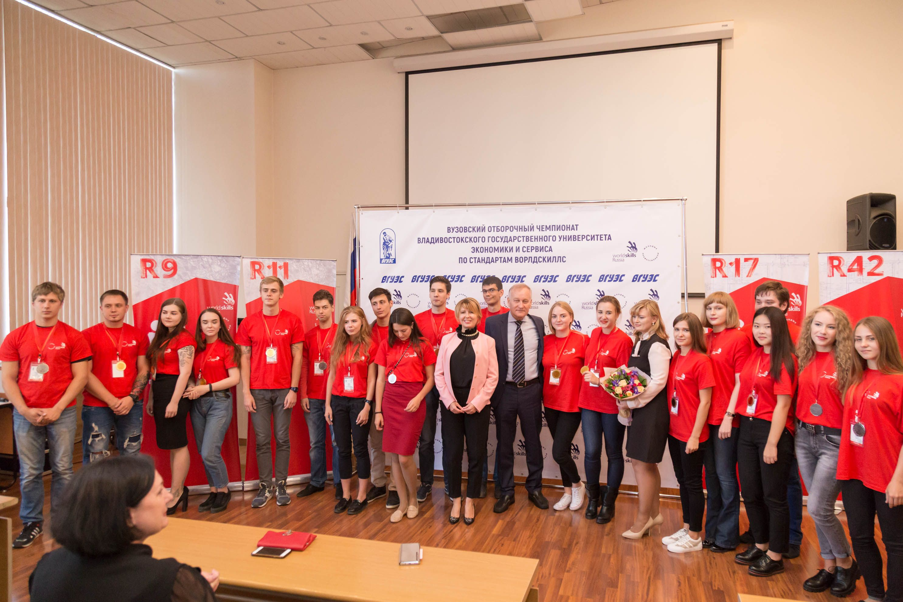 Команда ВГУЭС отправится на Первый Национальный Межвузовский чемпионат «Молодые профессионалы (Ворлдскиллс Россия)»
