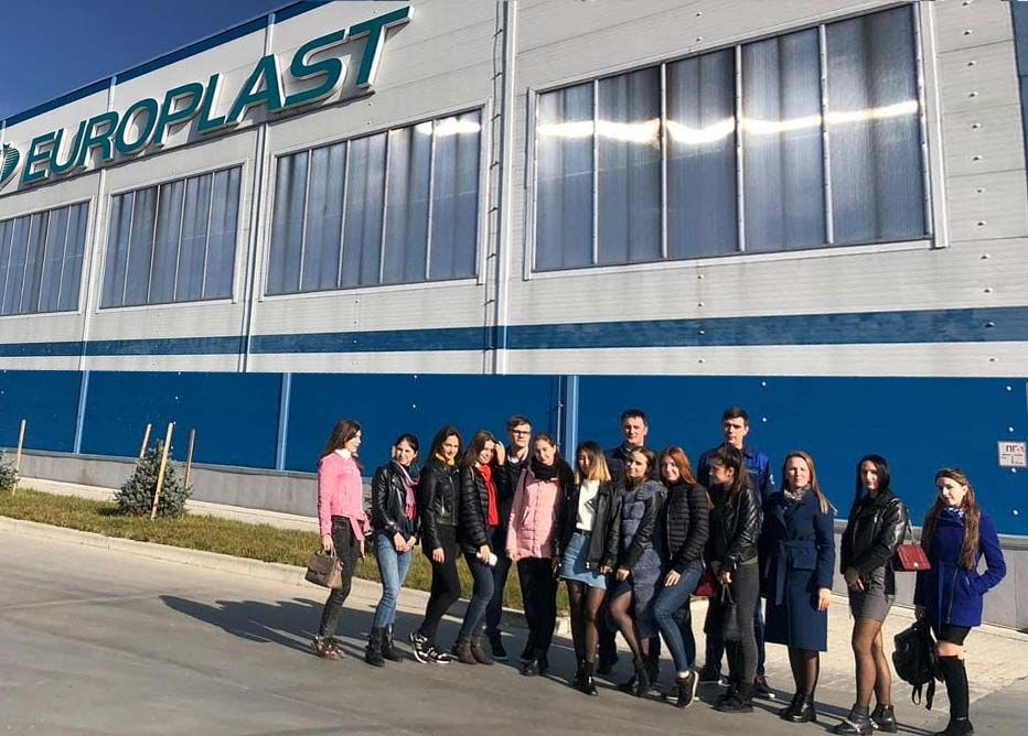 Практическое занятие на заводе Европласт