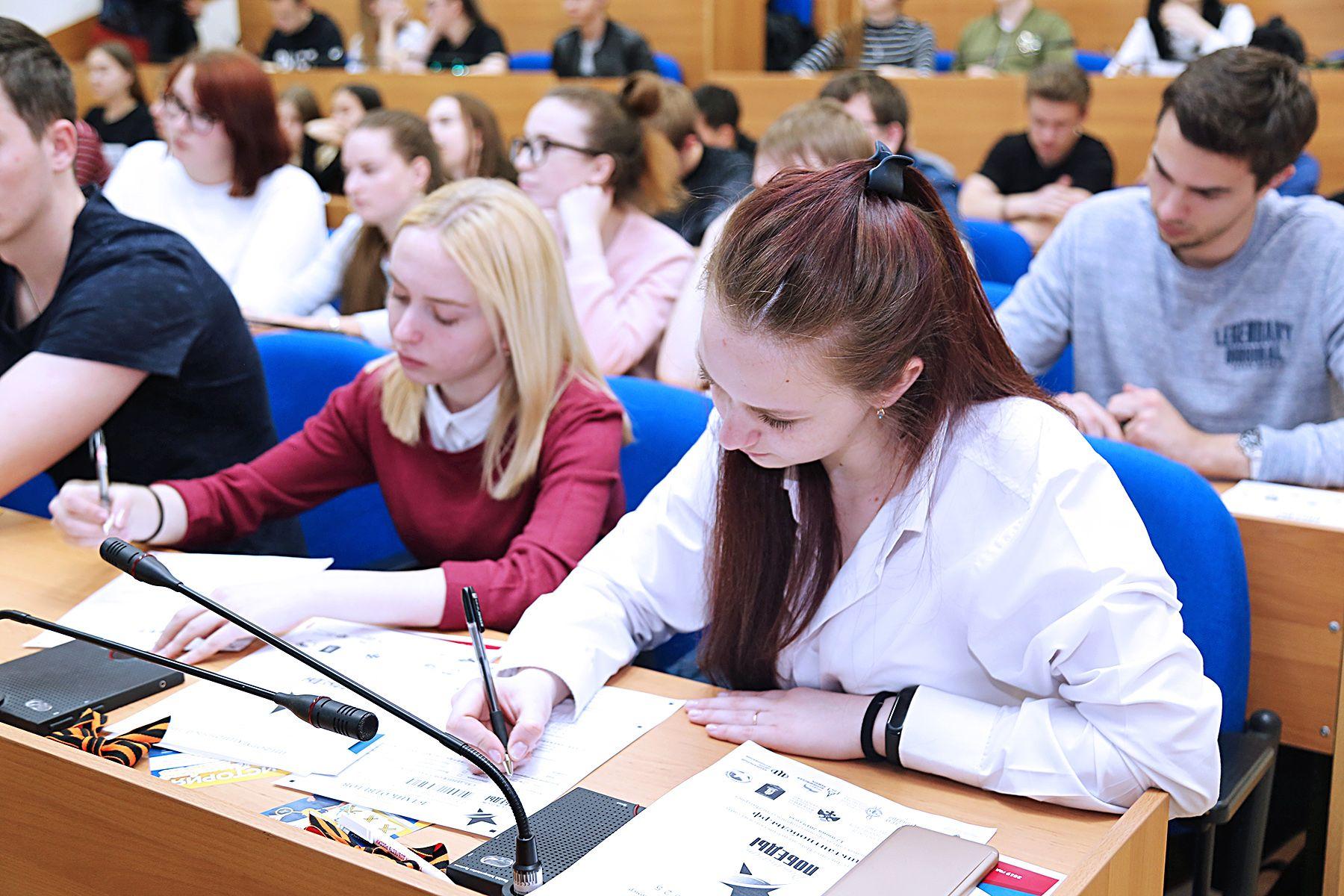 «Диктант Победы»: студенты ВГУЭС приняли участие во всероссийской акции