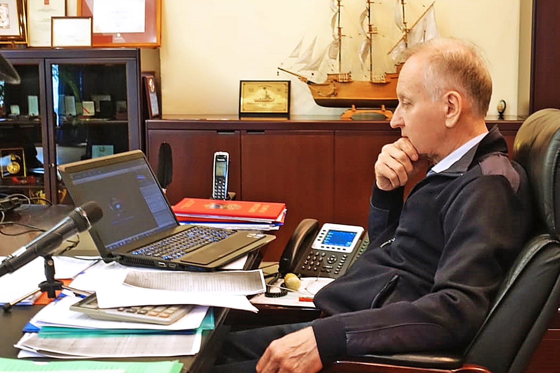 Геннадий Лазарев избран коллективом ВГУЭС на должность президента университета