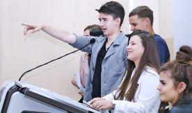 Первокурсники Высшей школы телевидения ВГУЭС – официально студенты