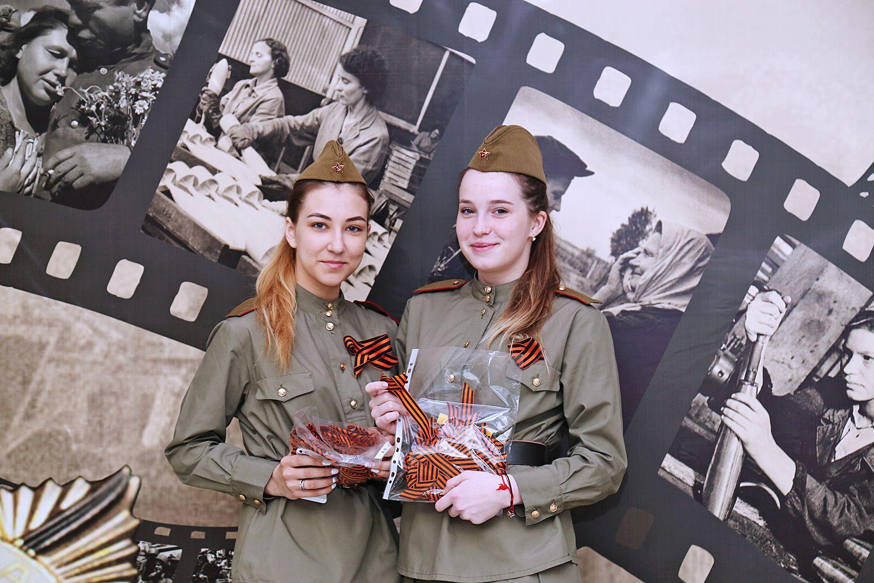Во ВГУЭС празднуют День Победы чествованием ветеранов, концертом и акцией «Георгиевская ленточка»