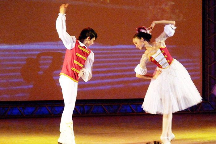 Отчетный концерт студии классического балета ШИОД прошел в театре «Андеграунд»