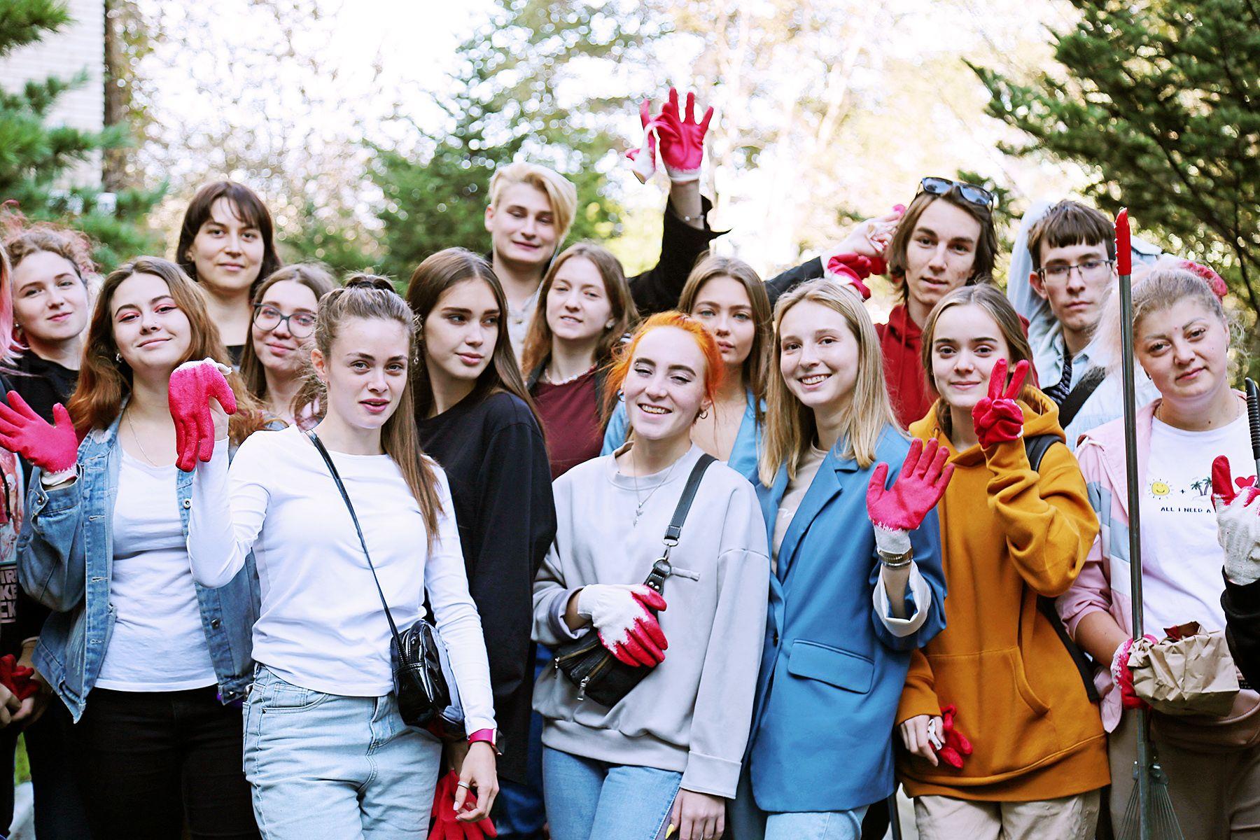 ВГУЭС на Всероссийском субботнике навел порядок в уникальном дендропарке