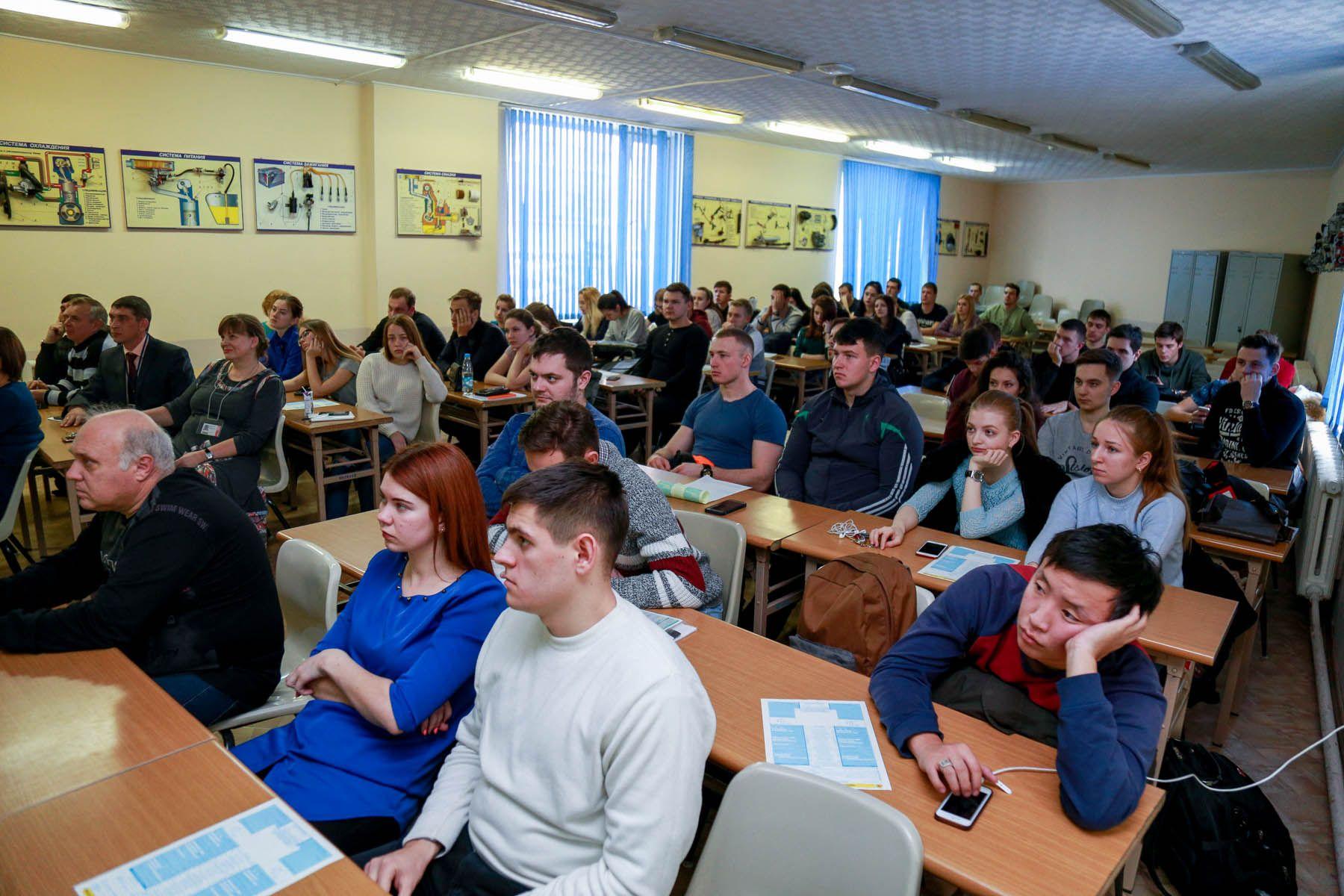Студенты Института транспорта и логистики ВГУЭС узнали о «Европротоколе»