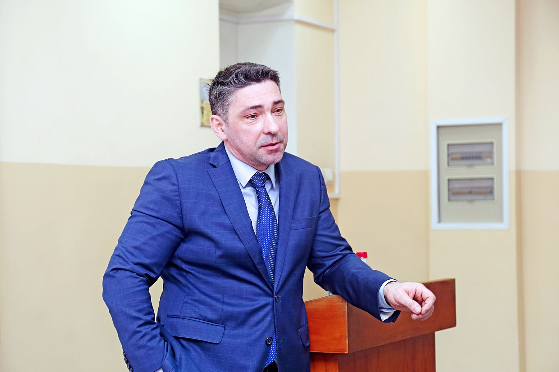 Адвокат Игорь Поляков во ВГУЭС: «Юристам работать не по специальности – путь в никуда»