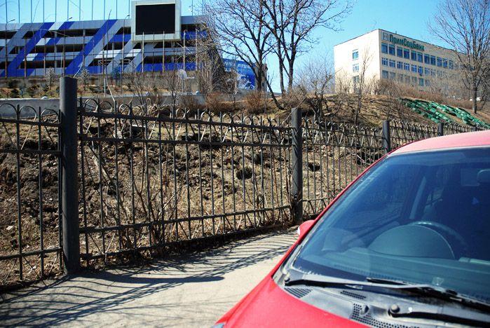 Новый въезд на территорию кампуса ВГУЭС откроется совсем скоро