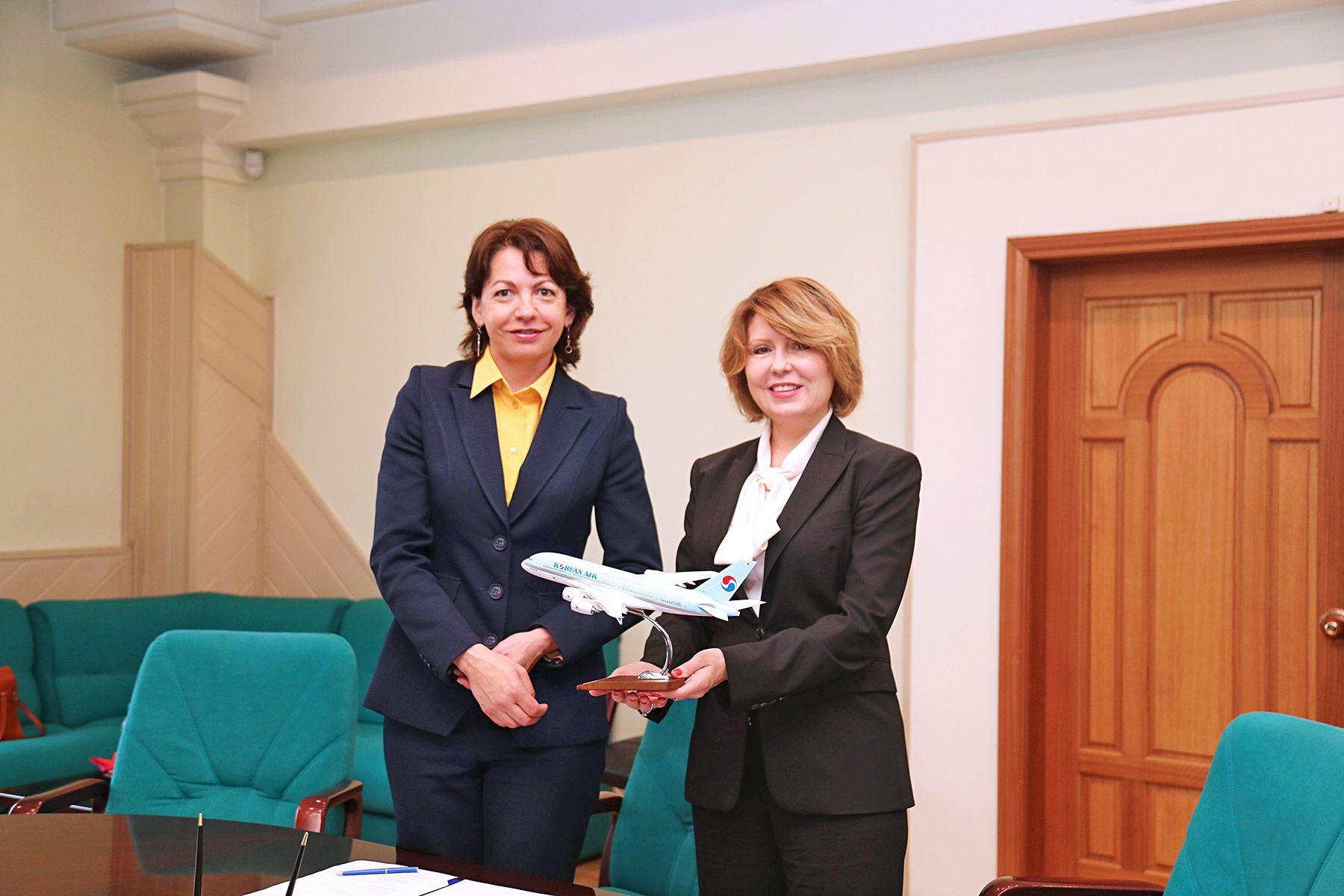 ВГУЭС и авиакомпания Korean Air заключили договор о сотрудничестве
