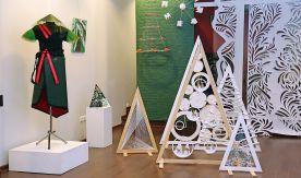 Предновогодняя выставка «Арт-ёлка» во ВГУЭС: главные тренды – креативность, handmade и экостиль