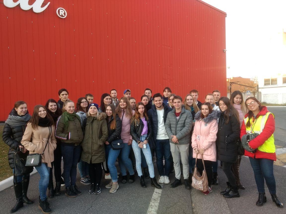 Студенты МИТГ посетили завод