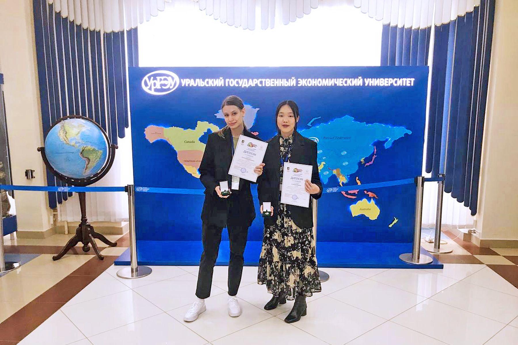 Студентки ВГУЭС Дарья Акуленко и Анна Когай – победительницы XI Евразийского экономического форума молодежи