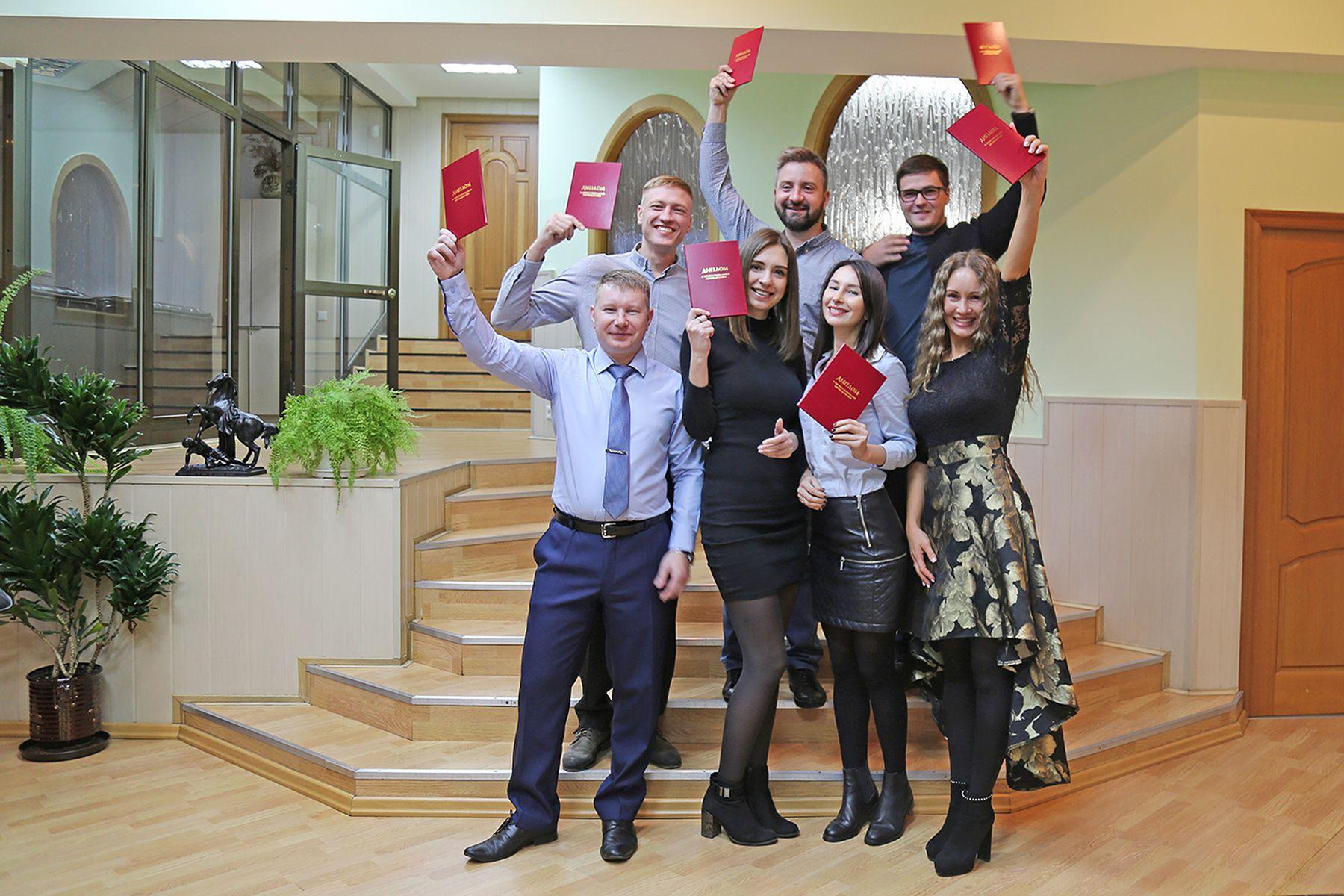 Выпускники Президентской программы ВГУЭС получили дипломы