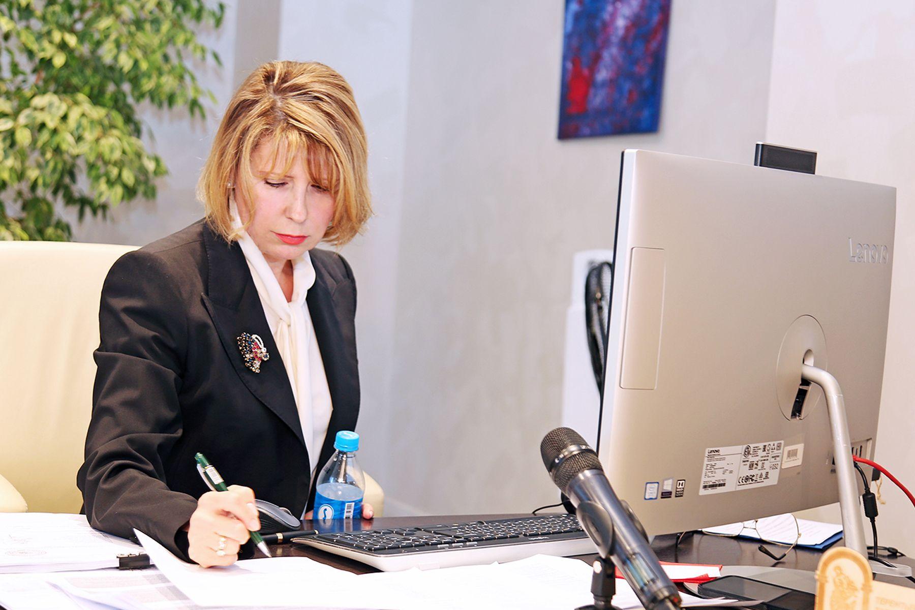 Ректор ВГУЭС Татьяна Терентьева прошла аттестацию Министерства науки и высшего образования РФ