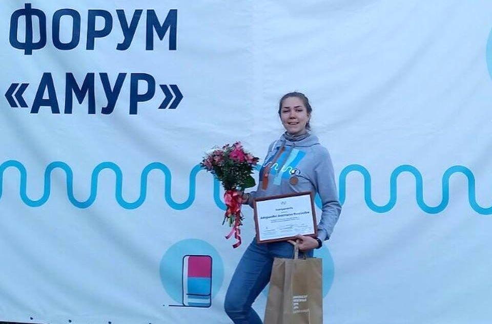 Студентка Кафедры управления Анастасия Анкудинова придумала проект для школьников