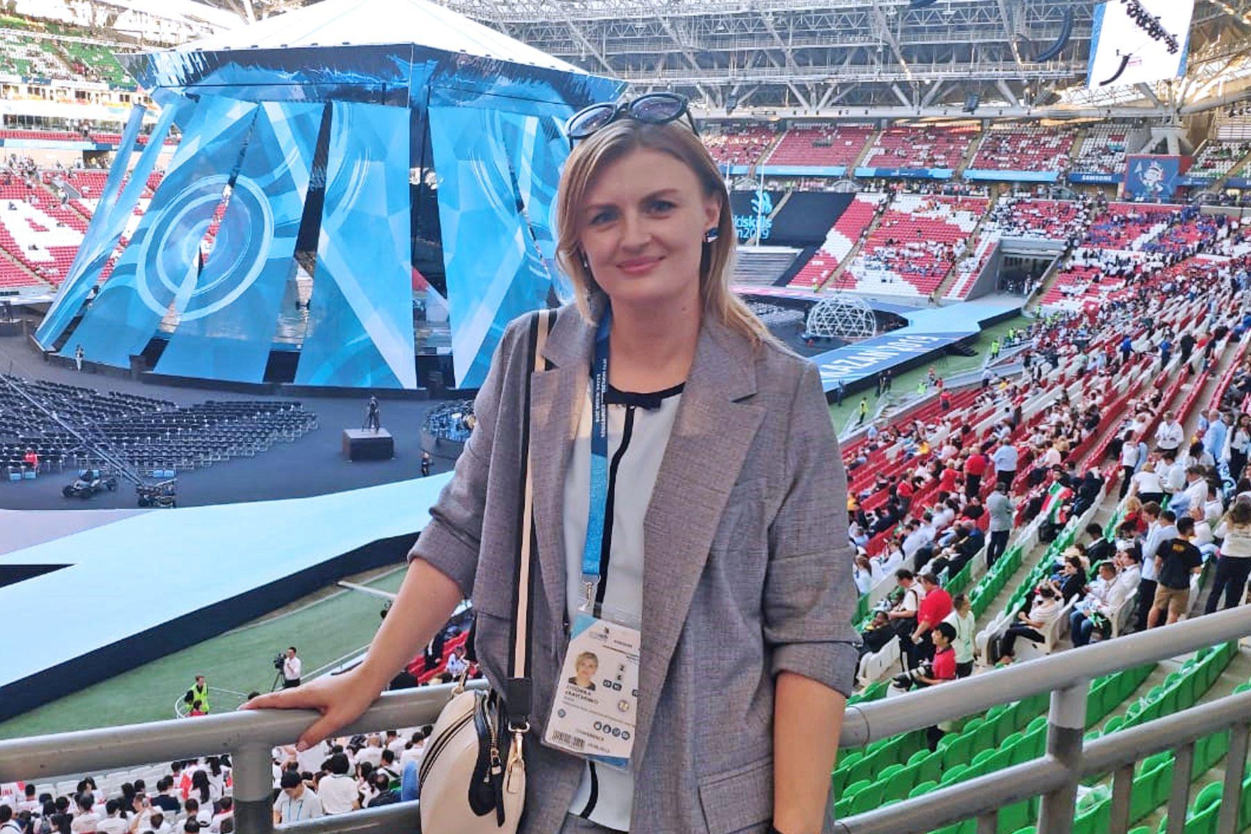 Проект ВГУЭС, представленный на Чемпионате мира WorldSkills Kazan 2019, получил высокую оценку и поддержку экспертов